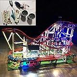 POXL Kit de Luces LED Iluminación para Lego Expert Montaña Rusa 10261 Luz - Juego de Lego no Incluido