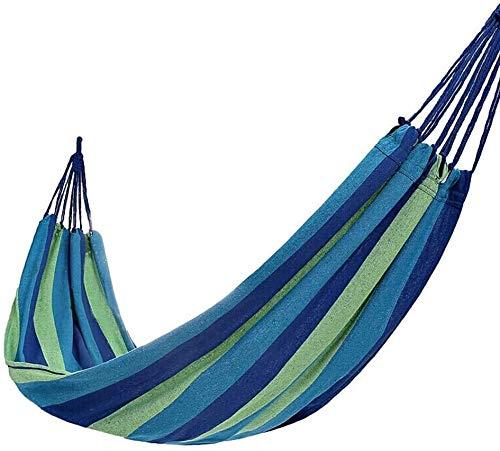 ROLLDC Sports de Plein air hamac - Léger Parachute Hamac Portable for la randonnée, Voyage, randonnée, Plage, engrenage Cour Comprend Nylon Sangles et Acier mousquetons, Taille: 2M, Couleur: Rouge