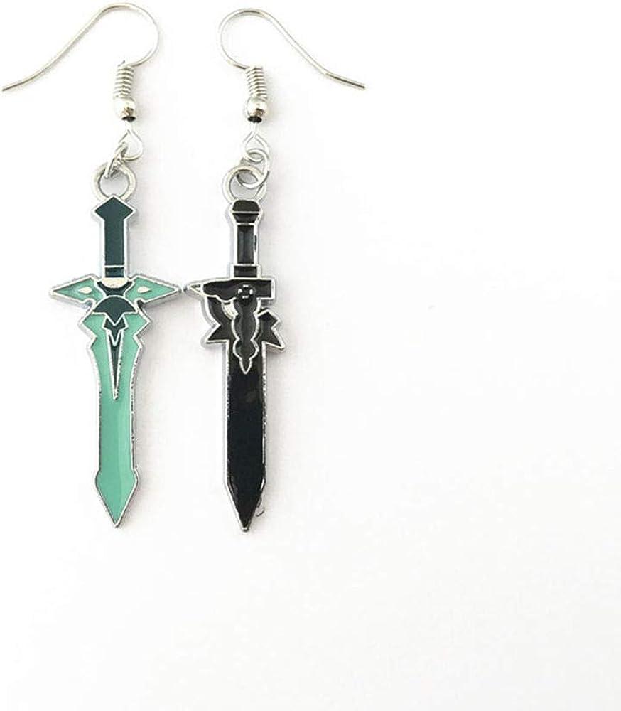 Fandom Bazaar Anime Cheap bargain Cartoon Sword Art Earrings for Onlin w Gifts Ranking TOP18