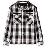 (ディーゼル) DIESEL メンズ シャツ フラネルチェックシャツ 00SMAW0QAVI XL ホワイト 100