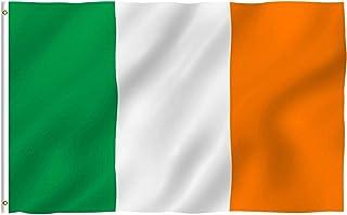 Haobase Ireland Flag 5ft x 3ft (90 X 150cm)