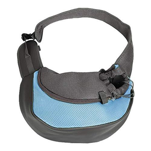 DQTYE Portador de mascotas transpirable, bolso de mano pequeño con correa para perro, bolsa de hombro cómoda y cómoda para mascotas, gato, pequeño
