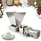 Molinillo De Granos Eléctrico 75Rpm 4Kg Molino Triturador De Molienda Cereales Con 2 Rodillos Ajustables Para Cocina...