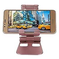 強くて素材の携帯電話ホルダー テーブル用のipad用の旅行用携帯電話ホルダー(rose gold)