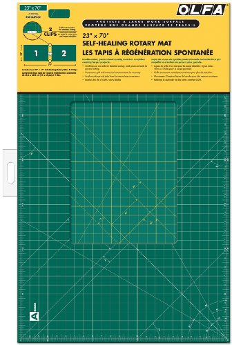 "OLFA 23"" x 70"" Self-Healing Rotary Mat"