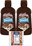 Smucker's Magic Shell Ice Cream Topping, Chocolate Flavor, 7.25 oz Bottles (Pack of 2) with By The...