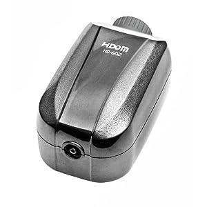 Hidom High Efficiency Quiet Adjustable Multi-Speed Aquarium Air Pump – 2.5w 2.0 LPM