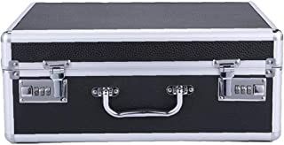 Hairdressing Tool Box Portable Barber Suitcase Double Code Lock for Hairdressing Tool Storage