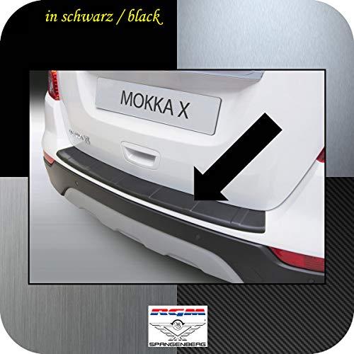 Richard Grant Mouldings Ltd. Original RGM Ladekantenschutz schwarz für Opel Mokka X SUV Kombi ab Facelift Baujahr 07.2016- RBP915