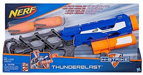 Nerf - Lanzadardos Elite Thunderblast (Hasbro A9604EU4)