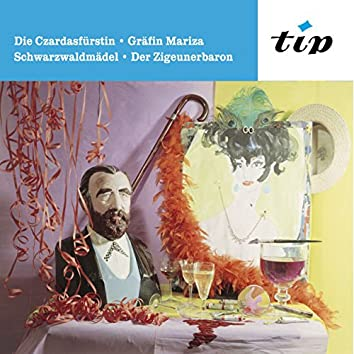 Die Czardasfürstin, Gräfin Mariza, Schwarzwaldmädel, Der Zigeunerbaron
