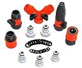 RAAYA Watering Supply Quick Connectors Set, Garden Hose Nozzle