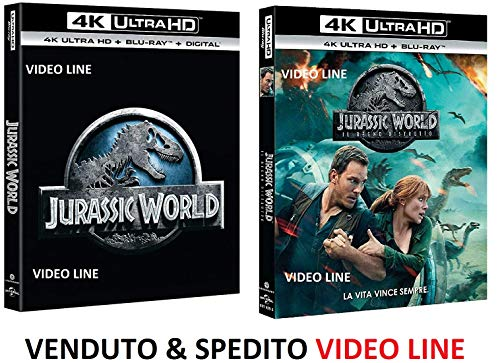 Jurassic World: Il Regno Distrutto (4K Ultra HD + Blu-Ray) - Edizione Italiana