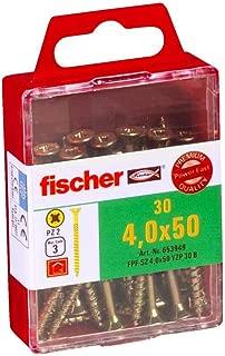 Fischer 653949 4.0 x 50 mm TG PZ Zinc Plated