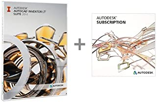 AutoCAD Inventor LT Suite 2014 -- Includes 1-Year Autodesk Subscription [Old Version]
