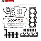 Cylinder Head Gasket Set with Head Bolts Replacement For Kia Spectra Sportage Replacement for Hyundai 2.0 16V 02-09
