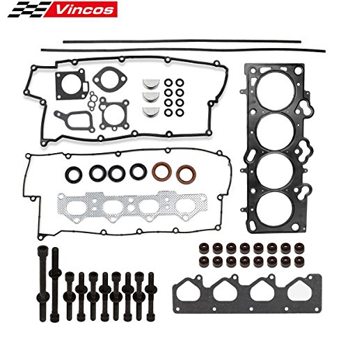 Cylinder Head Gasket Set with Head Bolts Replacement For Spectra Sportage Replacement for 2.0 16V 02-09