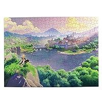 500ピース ジグソーパズル 原神 げんしん Genshin 知育玩具 益智減圧玩 木製 ギフト プレゼント 52.2x38.5cm