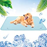 """Best Cooling Pad For Dogs - Dog Self Cooling Mat - 47"""" X 28"""" Review"""