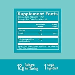 Vital Proteins, Marine Collagen, Wild Caught, Unflavored, 7.8 oz (221 g)