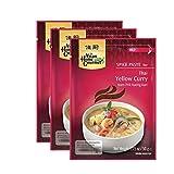 Pasta de curry amarillo tailandés - pack de 3 sobres de 50g cada uno