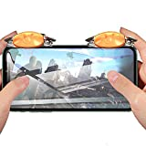 PUBG Mobile Trigger, Auto High Frequency Click Mobile Game Controllers for PUBG/COD Mobile/Fortnite/Rules of Survival Gaming Grip and Gaming Joysticks for iPhone Android Phones