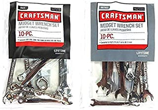 Craftsman 20 piece Midget Wrench set - 42339 + 42319 Bundle
