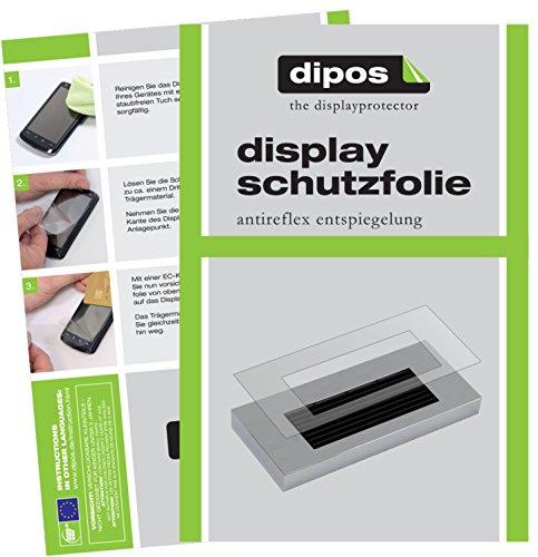 dipos I 2X Schutzfolie matt kompatibel mit Jura A-Serie A1 A5 A7 A9 Tropfblech Folie Displayschutzfolie