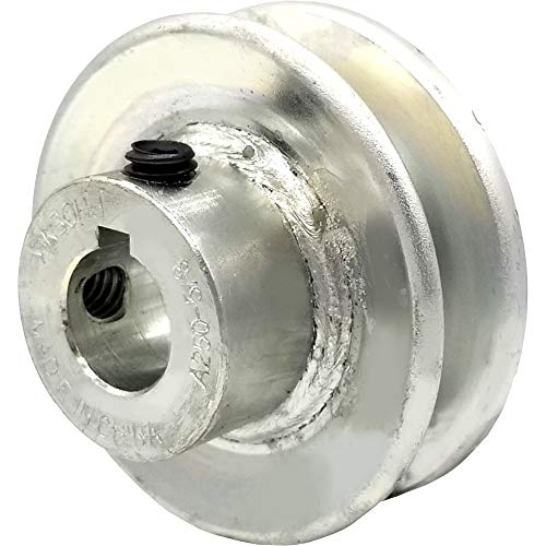 Phoenix V-Belt Pulley - 5/8in. Bore, 2 1/2in. Outside Dia. Model Number 125058
