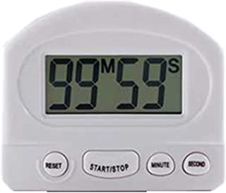 Jovye Digital Kitchen Timer, Cooking Timer, Large Screen, Strong Magnet Back, Loud Alarm Clock, Memory Function, Positive Count And Reverse Count, Used To Cook Baked Sports Games (White)