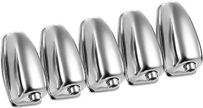 RuleaxAsi Único-fim Snare Drum Lug Ear Garra Hooks Connector Drum Set Peças Acessórios de Substituição, 5 unidades/pacote