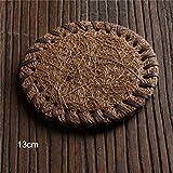 NIKIMI, tappetino da tè cinese multi-design in legno di bambù, vassoio da tè creativo decorativo resistente al calore