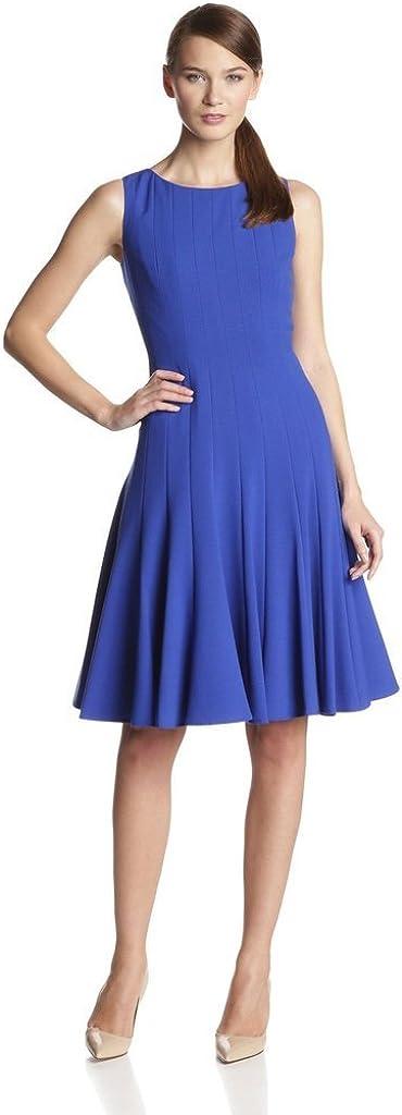 Pure Cherry Women's Backless Hip Package Dress Medium Blue