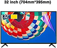 DPPAN 32インチ液晶保護フィルムテレビモニター用、アンチブルーライト スーパークリア スクリーンセーバー、反射防止 目を守る 保護フィルム LCD用液晶屏,B