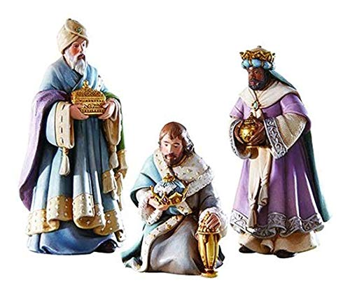 Bethlehem Nights Three Kings Bearing Gifts Nativity Figurines, 6 Inch