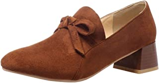 Zanpa Women Fashion Pumps Slip On Court Shoes Sweet Bow