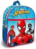 Spiderman - Mochila Escolar, 30 cm, poliéster