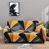 MKQB Funda de sofá Moderna y Sencilla, Funda de sofá Antideslizante retráctil elástica, Funda de sofá de Esquina en Forma de L para Sala de Estar N ° 4 L (190-230cm)