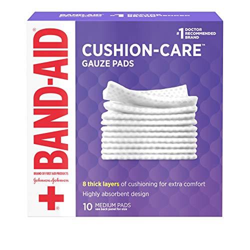 Band Aid gauze pads
