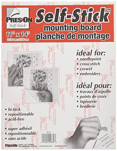 Pres-On Mounting Board, 11 by 14-Inch