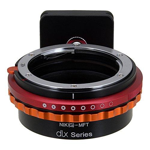 Fotodiox Pro DLX Adaptor de Lente - Nikon G (AI, AI-s, AF-D, etc) Lente para MFT (Micro-4/3, M4/3) Mirrorless Sysetema de Montura para Camera (Panasonic Lumix, Olympus Pen, OM-D y BMPCC)