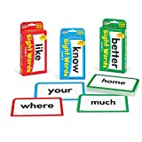 TREND ENTERPRISES, INC. Sight Words Bundle - Pocket Flash Cards Set - for Home, Travel, Classroom