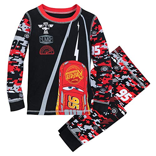 Disney Lightning McQueen PJ PALS for Boys Size 2 Multi