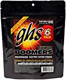 GHS Boomers Light - Cuerdas para guitarra eléctrica (6 unidades, 10-46)
