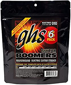 s. Bright, long-lasting tone. Suitable for all genres of music. 6-Pack- .010 .013 .017 .026w .036 .046 - Juego / Guitarra Eléctrica6x complete string sets (5+1 gratis): single strings of the same gauge packed together, not as setsLight GaugeNickel Pl...