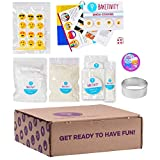 BAKETIVITY Kids Baking DIY Activity Kit - Bake Delicious Emoji Cookies with Pre-Measured Ingredients – Best Gift Idea for Boys and Girls Ages 6-12