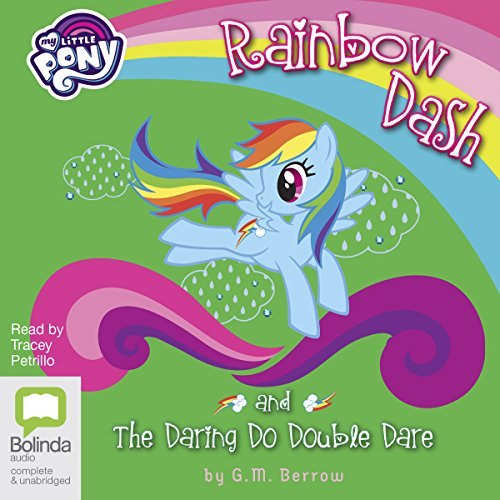 Rainbow Dash and the Daring Do Double Dare cover art