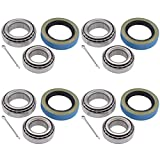 ApplianPar Pack of 4 Trailer Hub Bearings Kit L68149 L44649 for 3500 1.719 inch Spindle 84 Axle