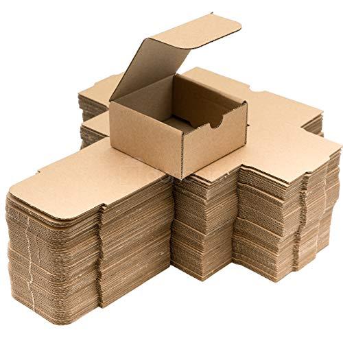 Pack cajas   cartón pequeñas, para envíos ecommerce automontables kraft,...