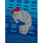 Blizzard Bay Men's Ugly Christmas Sweater Sea Creatures 10 Novelty holiday sweater Great with denim